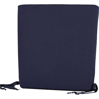 Trex Outdoor Seat Cushion Fabric: Navy
