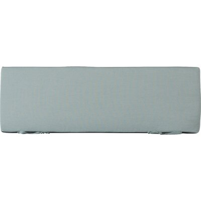 Seat Cushion Fabric: Spa, Size: 48