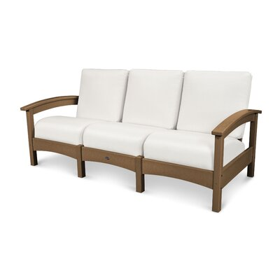 Rockport Club Sofa Color: Tree House / Birds Eye