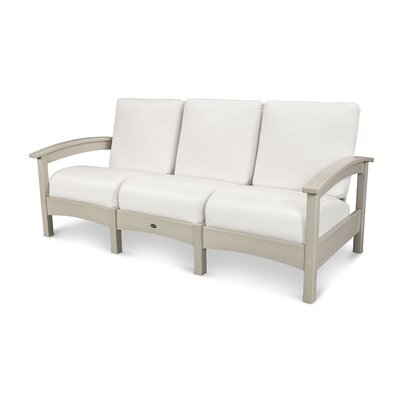 Rockport Club Sofa Color: Sand Castle / Birds Eye