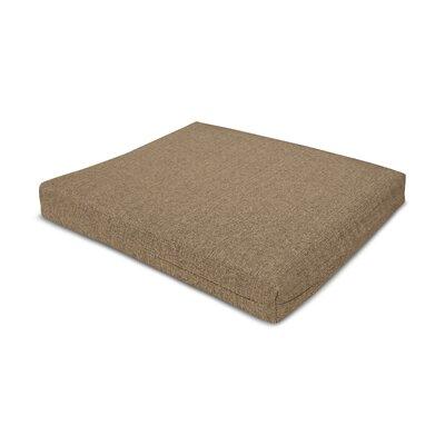 Outdoor Sunbrella Barstool Cushion Fabric: Sesame