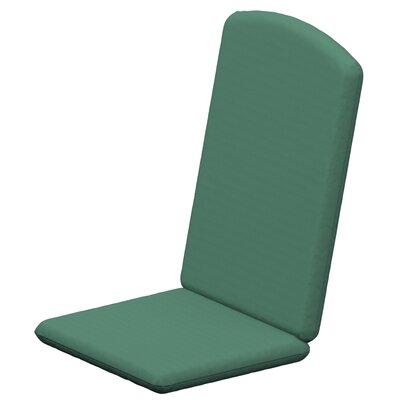 Solid Outdoor Sunbrella Rocking Chair Cushion Fabric: Spa