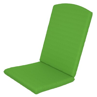Solid Outdoor Sunbrella Rocking Chair Cushion Fabric: Macaw