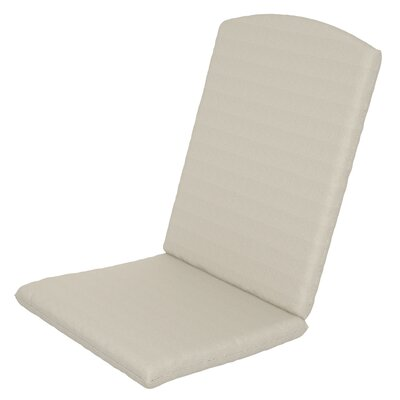 Solid Outdoor Sunbrella Rocking Chair Cushion Fabric: Birds Eye