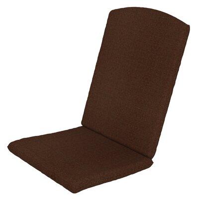 Solid Outdoor Sunbrella Rocking Chair Cushion Fabric: Chili