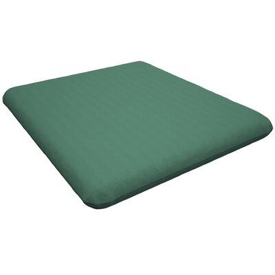 Trex Outdoor Sunbrella Dining Chair Cushion Fabric: Spa