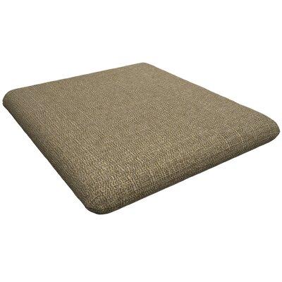 Trex Outdoor Sunbrella Dining Chair Cushion Fabric: Sesame