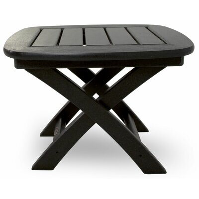 Trex Outdoor Yacht Club Side Table - Color: Charcoal Black at Sears.com