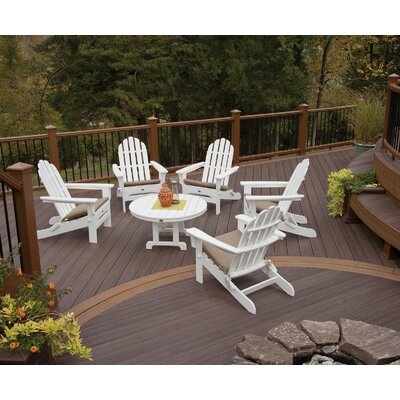 Trex Outdoor Cape Cod 6 Piece Adirondack Seating Group