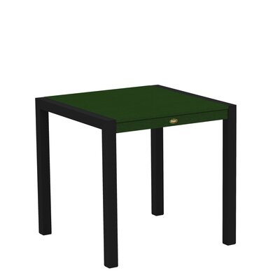 "Trex Outdoor Surf City Dining Table - Size: 30"" x 30"", Color: Textured Black/Rainforest Canopy at Sears.com"