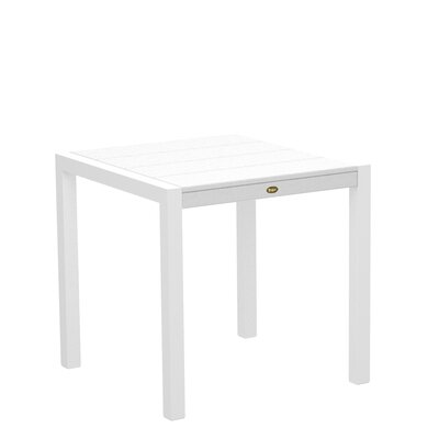 "Trex Outdoor Surf City Dining Table - Size: 30"" x 30"", Color: Textured White/Classic White at Sears.com"