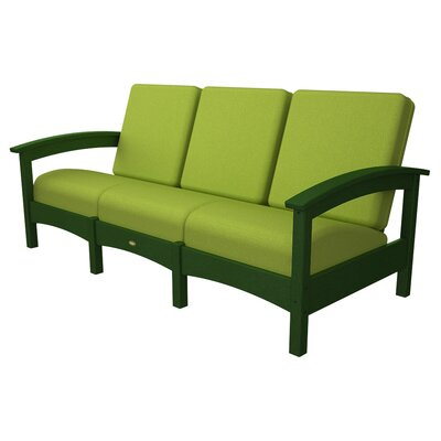 Rockport Club Sofa Color: Rainforest Canopy / Macaw
