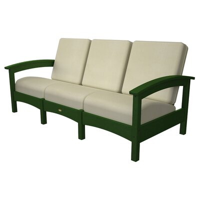 Rockport Club Sofa Color: Rainforest Canopy / Birds Eye