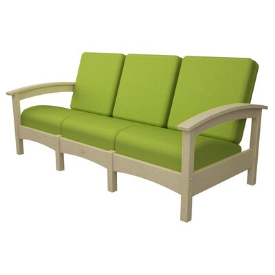 Rockport Club Sofa Color: Sand Castle / Macaw