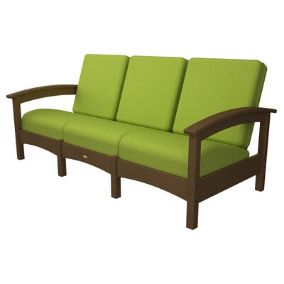 Rockport Club Sofa Color: Tree House / Macaw