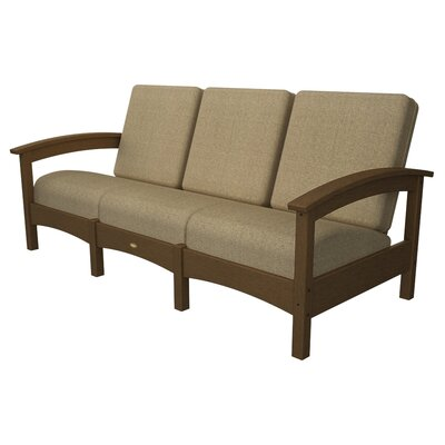 Rockport Club Sofa Color: Tree House / Sesame