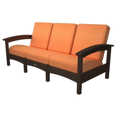 Rockport Club Sofa Color: Vintage Lantern / Tangerine