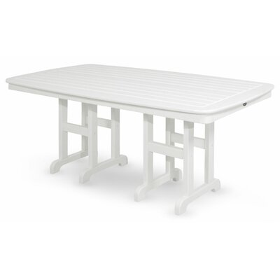 Yacht Club Dining Table Finish: Classic White