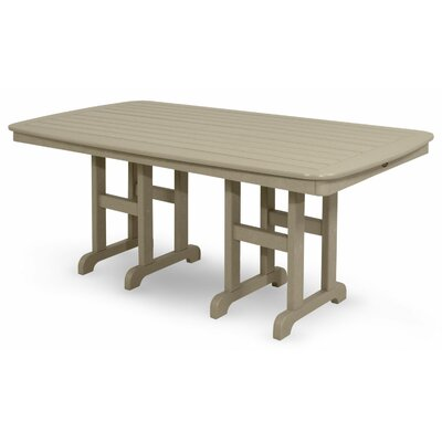 Yacht Club Dining Table Finish: Sand Castle