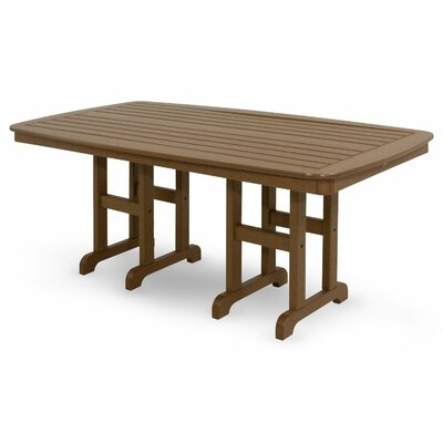 Yacht Club Dining Table Finish: Tree House