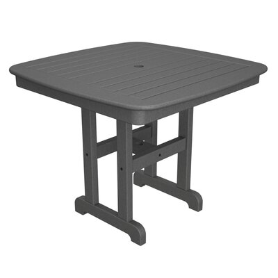 Yacht Club Dining Table Table Size: 37, Finish: Stepping Stone