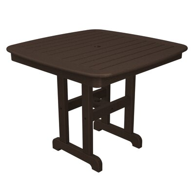Yacht Club Dining Table Table Size: 37, Finish: Vintage Lantern