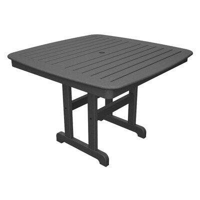Yacht Club Dining Table Finish: Stepping Stone, Table Size: 44