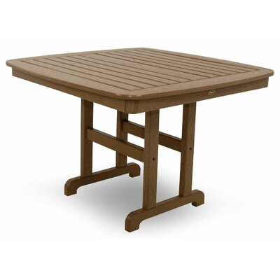 Yacht Club Dining Table Finish: Tree House, Table Size: 44