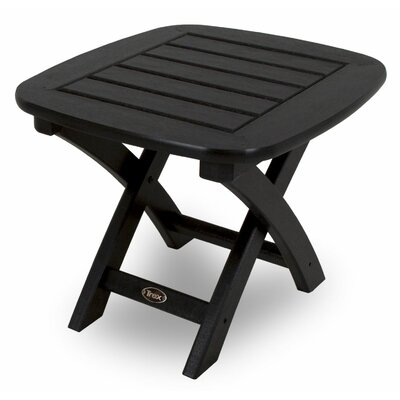 Yacht Club Side Table Finish: Charcoal Black