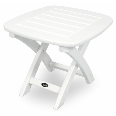 Yacht Club Side Table Finish: Classic White