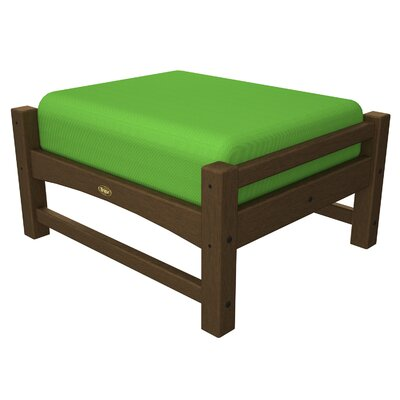 Rockport Club Ottoman Color: Tree House / Macaw