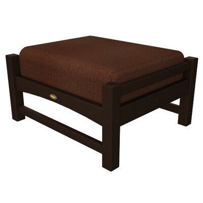Rockport Club Ottoman Color: Vintage Lantern / Chili