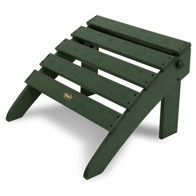 Trex Outdoor Cape Cod Folding Ottoman - Color: Rainforest Canopy at Sears.com