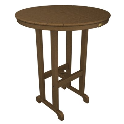Monterey Bay Bar Table Table Size: 36, Finish: Tree House
