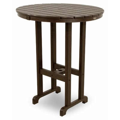 Monterey Bay Bar Table Table Size: 36, Finish: Vintage Lantern
