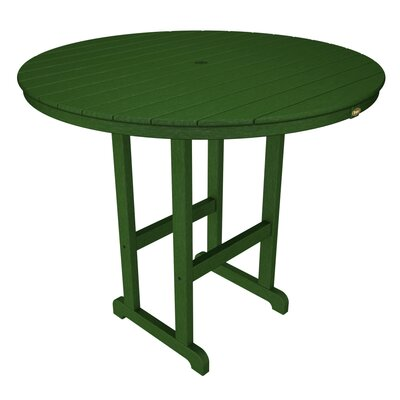 Monterey Bay Bar Table Table Size: 48, Finish: Rainforest Canopy
