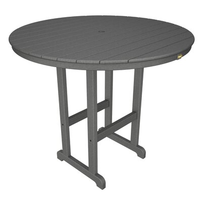 Monterey Bay Bar Table Finish: Stepping Stone, Table Size: 48