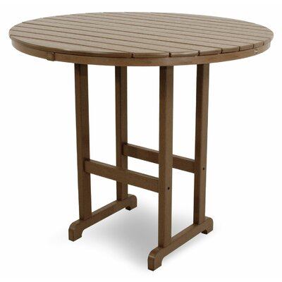 Monterey Bay Bar Table Table Size: 48, Finish: Tree House