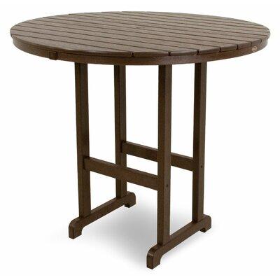 Monterey Bay Bar Table Table Size: 48, Finish: Vintage Lantern