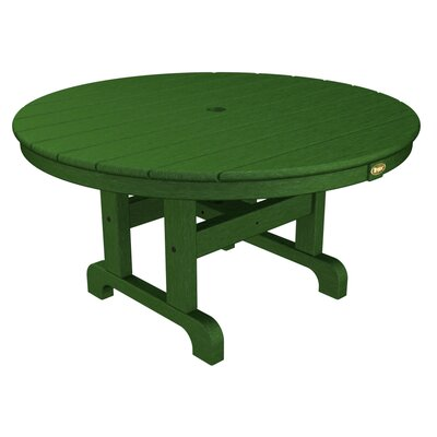 Cape Cod Chat Table Finish: Rainforest Canopy, Table Size: 36