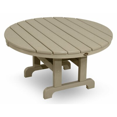 Cape Cod Chat Table Finish: Sand Castle, Table Size: 36