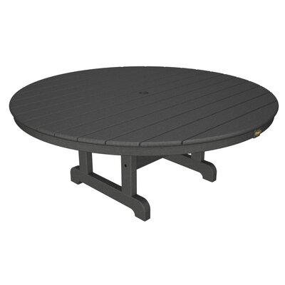 Cape Cod Chat Table Table Size: 48, Finish: Stepping Stone
