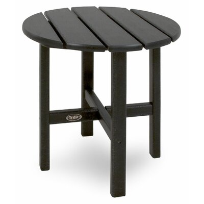 Trex Outdoor Cape Cod Round Side Table - Color: Charcoal Black at Sears.com