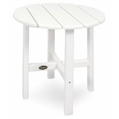 Trex Outdoor Cape Cod Round Side Table - Color: Classic White at Sears.com