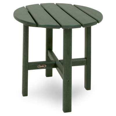 Trex Outdoor Cape Cod Round Side Table - Color: Rainforest Canopy at Sears.com