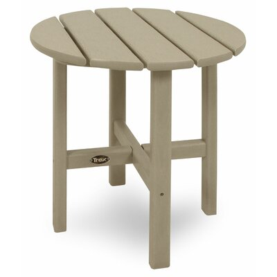 Trex Outdoor Cape Cod Round Side Table - Color: Sand Castle at Sears.com