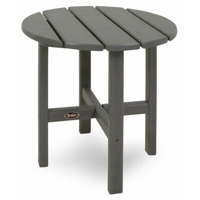 Trex Outdoor Cape Cod Round Side Table - Color: Stepping Stone at Sears.com