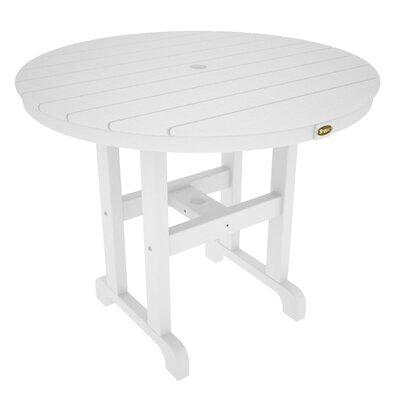 Monterey Bay Dining Table Finish: Classic White, Table Size: 36