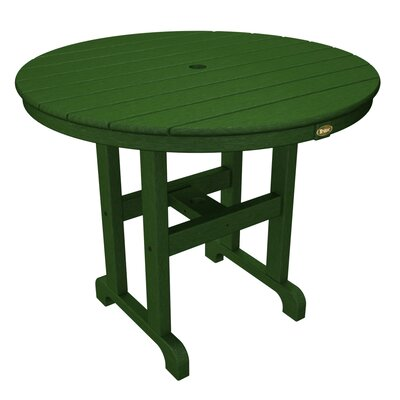 Monterey Bay Dining Table Table Size: 36, Finish: Rainforest Canopy