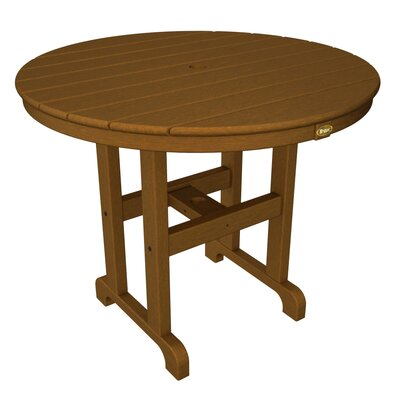 Monterey Bay Dining Table Table Size: 36, Finish: Tree House